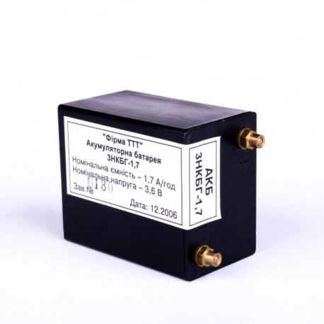 Акумуляторна батарея 3НКБГ - 1,7   (3НКП - 1,5)